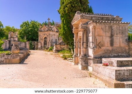 cemetery in Provence