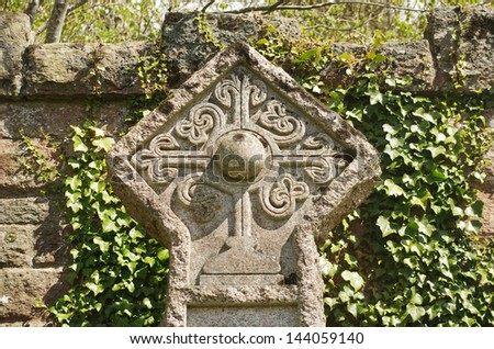 cemetery rosicrucian Celtic cross