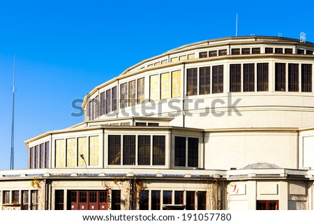 Centennial Hall (1913), Wroclaw, Silesia, Poland - stock photo
