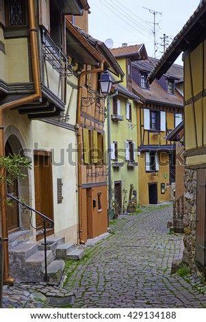 Central Europe France the medieval town
