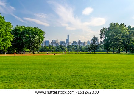 Central Park, Manhattan, New York City - stock photo
