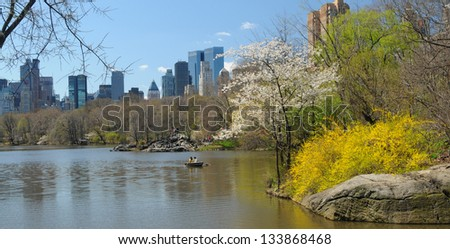 Central park, New York City. USA. - stock photo