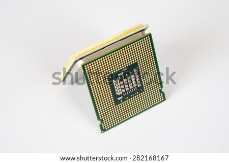 Central Processing Unit (CPU) isolated