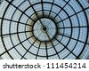 Central square gallery dome - stock photo