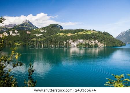 Central Switzerland - stock photo