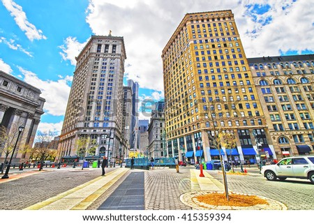Nyc Street View Stock Photos RoyaltyFree Images Vectors