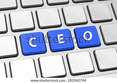 CEO - stock photo
