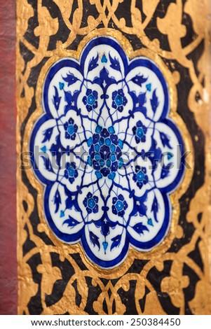 Ceramic at the Topkapi Palace - stock photo