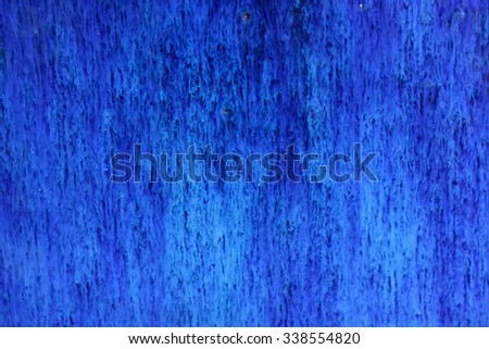 Ceramic Blue - stock photo