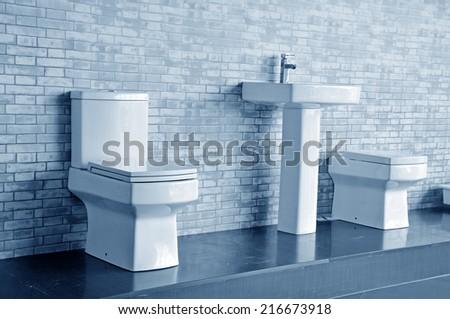 Ceramic products  - stock photo