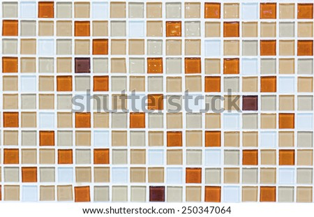 Ceramic Tile on floor - stock photo