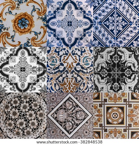 ceramic tile texture - design wall bathroom indoor outdoor handcraft pattern background