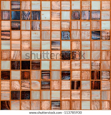 Ceramic tiles background - stock photo