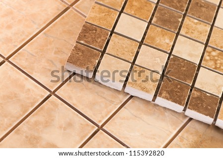 Ceramic tiles for beautification of apartments