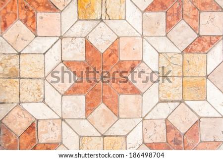 Ceramic tiles Kitchen Backsplash - stock photo