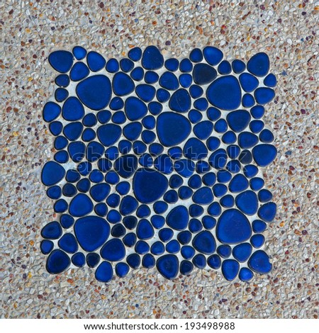 ceramic tiles patterns  - stock photo