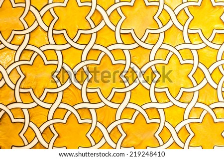 Ceramic wall pattern background - stock photo