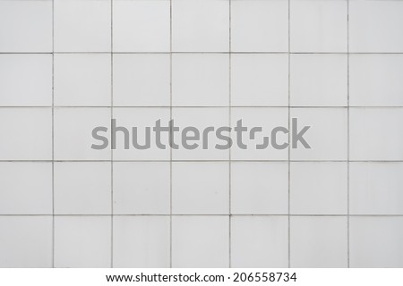 Ceramic wall tile use for background - stock photo