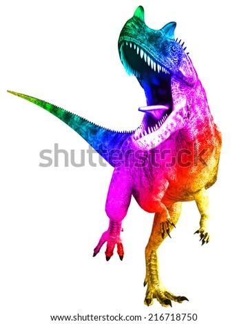 ceratosaurus - stock photo