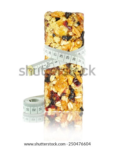 cereal bar and meter