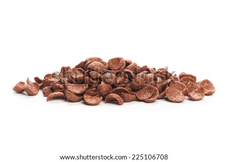 Cereal chocolate - stock photo