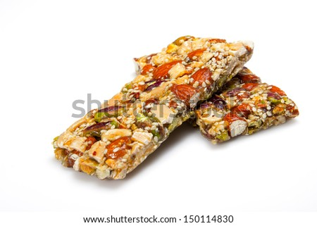 Cereals bar - stock photo
