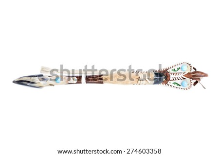 Ceremony horsewhip made from sheep's hoof with sheep's hoof