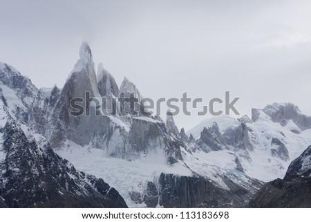 Cerro-Torre peak - stock photo