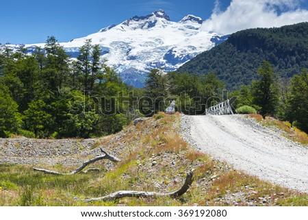 Cerro Tronador, Nahuel Huapi national parK (Argentina) - stock photo