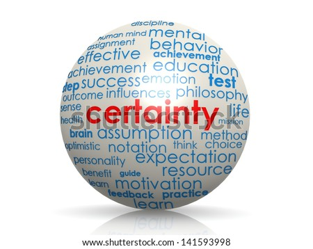 how is certainty possible Descartes' epistemology first i shall now expound for a second time the basis on which it seems to me that all human certainty can so far as possible.