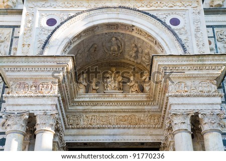Certosa di Pavia - stock photo