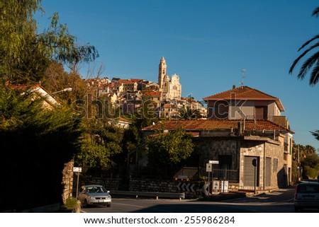 Cervo, Imperia, Liguria, Italy - stock photo
