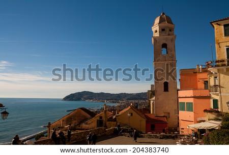 Cervo, Liguria, Italy, Europe - stock photo