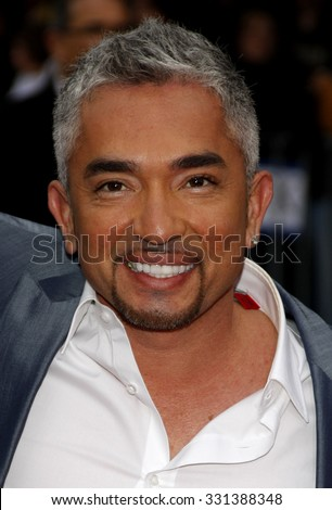 """Cesar Millan at the Los Angeles premiere of """"The Back-Up Plan"""" held at the Westwood Village Theater in Hollywood, USA on April 21, 2010. - stock photo"""