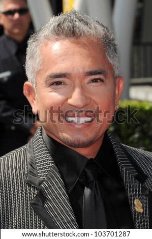 Cesar Millan at the 61st Annual Primetime Creative Arts Emmy Awards. Nokia Theatre, Los Angeles, CA. 09-12-09