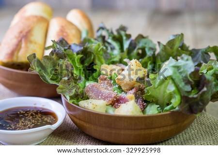 Cesar Salad - stock photo