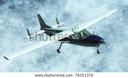 Cessna - stock photo