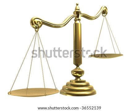 CG Scale - stock photo
