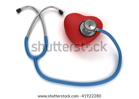 CG stethoscope listening to the heart