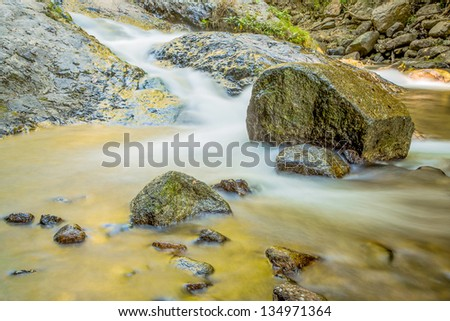 Chae son water fall - stock photo