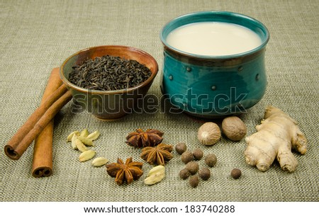 Chai Masala - stock photo