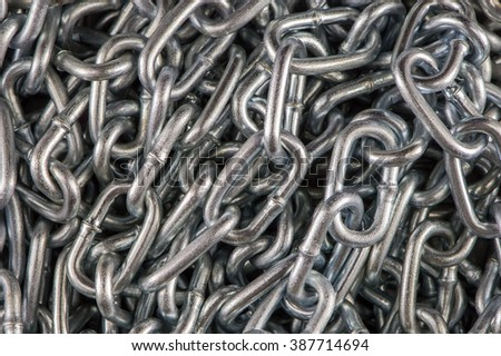 Chain Abstract background - stock photo