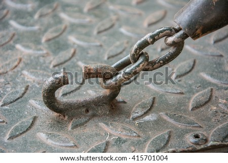 chain of truck