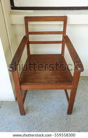 Dunces Chair Old Schoolhouse Dunce Cap Stock Photo 4448050