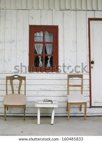 chair at Front Porch
