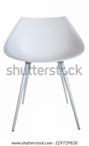 Chair isolate on white background with clipping - stock photo