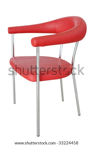 Chair isolated in white background