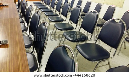 Chair of meeting room