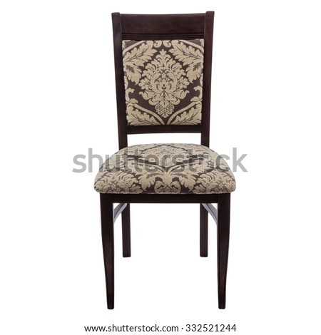 Chair on a white background - stock photo