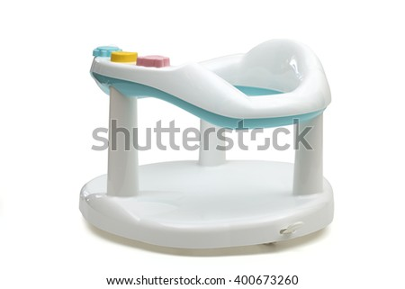 chair on the white background - stock photo